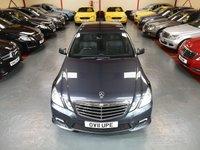 2011 MERCEDES-BENZ E CLASS E250 CDI BLUEEFFICIENCY SPORT 2.1 4d  £9500.00