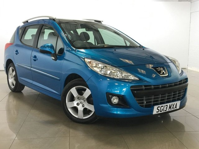 View our 2013 13 PEUGEOT 207 1.6 HDI SW ACTIVE 5d 92 BHP