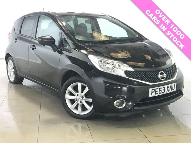 View our 2013 63 NISSAN NOTE 1.5 DCI TEKNA 5d 90 BHP