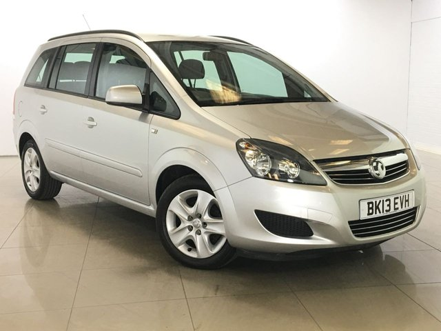 View our 2013 13 VAUXHALL ZAFIRA 1.6 EXCLUSIV 5d 113 BHP