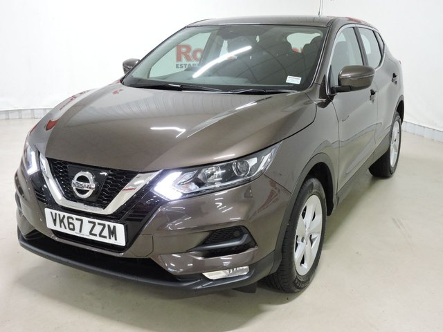 View our 2017 67 NISSAN QASHQAI 1.2 ACENTA DIG-T 5d 113 BHP