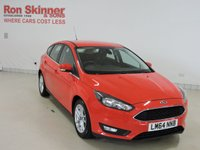 USED 2015 64 FORD FOCUS 1.5 ZETEC TDCI 5d 118 BHP with rear park assist