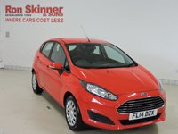 USED 2014 14 FORD FIESTA 1.2 STYLE 5d 59 BHP