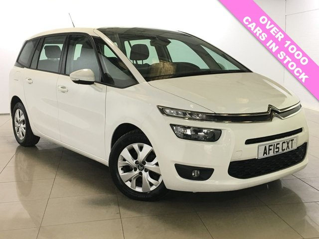 View our 2015 15 CITROEN C4 GRAND PICASSO 1.6 E-HDI VTR PLUS ETG6 5d AUTO 91 BHP