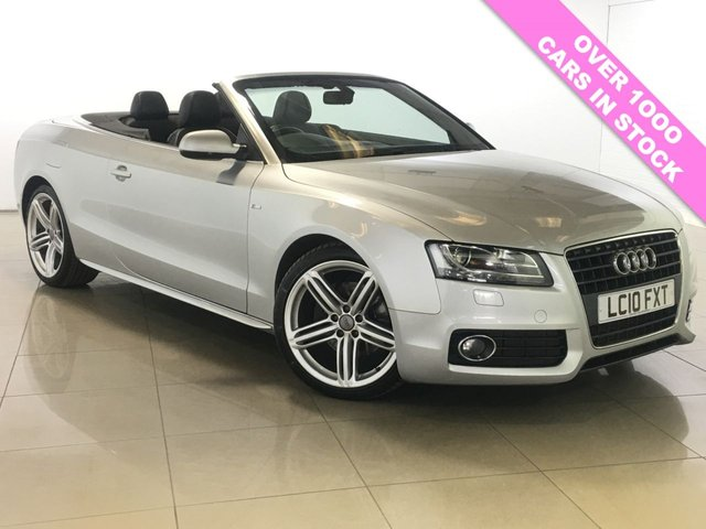 View our 2010 10 AUDI A5 2.7 TDI S LINE 2d AUTO 187 BHP