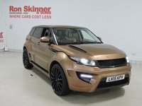 USED 2015 15 LAND ROVER RANGE ROVER EVOQUE 2.2 ONYX ROGUE EDITION 5d Special Edition - ONYX Rogue Edition