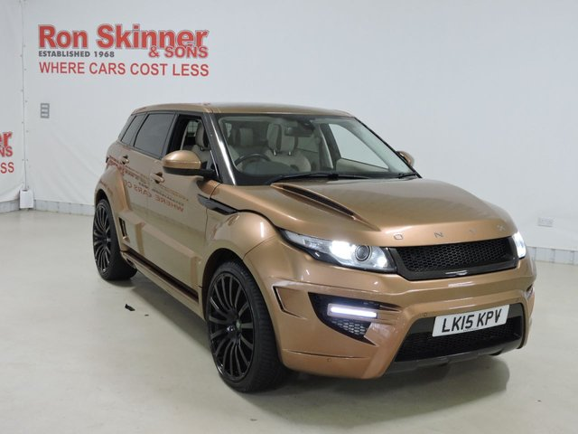 View our 2015 15 LAND ROVER RANGE ROVER EVOQUE 2.2 ONYX ROGUE EDITION 5d