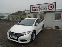 USED 2015 64 HONDA CIVIC 1.8 I-VTEC S 5d AUTO 140 BHP £49 PER WEEK OVER 5 YEARS - SEE FINANCE LINK BELOW