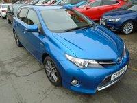 USED 2014 14 TOYOTA AURIS 1.8 VVT-I ICON PLUS 5d AUTO 98 BHP