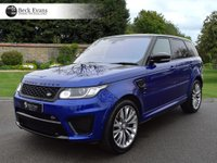 USED 2016 16 LAND ROVER RANGE ROVER SPORT 5.0 V8 SVR 5d AUTO VAT QUALIFYING VAT QUALIFYING  PANORAMIC SUNROOF AUTOMATIC