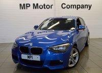2013 BMW 1 SERIES 1.6 116I M SPORT 5d 135 BHP £11295.00