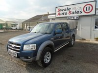 USED 2008 08 FORD RANGER 2.5 XLT 4X4 D/C 1d 141 BHP £28 PER WEEK OVER 5 YEARS - SEE FINANCE LINK BELOW