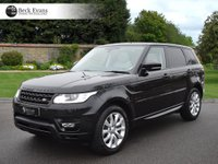 USED 2016 16 LAND ROVER RANGE ROVER SPORT 3.0 SDV6 HSE 5d AUTO 306 BHP 2016 MODEL VAT QUALIFYING  LOW MILEAGE AUTOMATIC