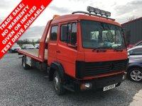 1996 MERCEDES-BENZ ATEGO 6.0 814 TRUCK 1d 136 BHP £4950.00