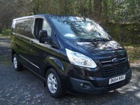 USED 2014 64 FORD TRANSIT CUSTOM 2.2 270 LIMITED LR P/V 1d 124 BHP