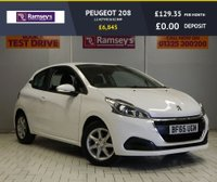 USED 2015 65 PEUGEOT 208 1.2 ACTIVE 3d 82 BHP