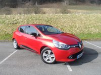 USED 2014 64 RENAULT CLIO 1.5 DYNAMIQUE MEDIANAV ENERGY DCI S/S 5d 90 BHP ONE OWNER, FULL SERVICE HISTORY