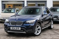 USED 2014 14 BMW X1 2.0 XDRIVE20D XLINE 5d 181 BHP 1 OWNER ** FULL BMW HISTORY ** 4X4 ** 4WD ** DAB ** LEATHER ** F&R PARK AID