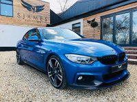 2016 BMW 4 SERIES 3.0 430D M SPORT 2d AUTO 255 BHP £24490.00