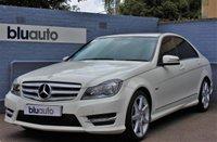 2012 MERCEDES-BENZ C 220 2.1 CDI BLUE EFFICIENCY SPORT 4d AUTO 168 BHP £13620.00