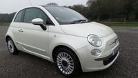 2012 FIAT 500 1.2 LOUNGE 3d 69 BHP £5000.00