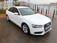 2013 AUDI A4 2.0 TDI SE TECHNIK 4d 134 BHP £10395.00