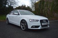 2014 AUDI A4 2.0 TDI SE TECHNIK 4d 134 BHP BLACK EDITION STYLING £11695.00