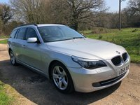 USED 2008 58 BMW 5 SERIES 2.0 520D SE TOURING 5d 175 BHP
