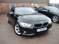 USED 2015 15 BMW 4 SERIES 2.0 420D SE 2d 181 BHP ANY PART EXCHANGE WELCOME, COUNTRY WIDE DELIVERY ARRANGED, HUGE SPEC