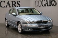 USED 2002 52 JAGUAR X-TYPE 2.5 V6 SE 4d AUTO 195 BHP FULL DOCUMENTED SERVICE HISTORY, FULL SAND BEIGE LEATHER, PARKING SENSORS, AUTOMATIC CLIMATE CONTROL, 16 INCH ALLOY WHEELS, LEATHER MULTI FUNCTION STEERING WHEEL, CRUISE CONTROL