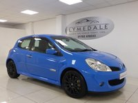 USED 2008 08 RENAULT CLIO 2.0 RENAULTSPORT 197 3d 195 BHP SUPERBLY MAINTAINED WITH FABULOUS FULL SERVICE HISTORY