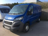 2014 PEUGEOT BOXER 2.2 HDI 330 L1H1 PROFESSIONAL P/V 1d 110 BHP SAT NAV AIR CON ONE OWNER FSH £9100.00