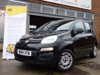 USED 2014 14 FIAT PANDA 1.2 EASY 5d 69 BHP VERY LOW MILEAGE WITH FULL FIAT SERVICE HISTORY £30 A YEAR ROAD TAX