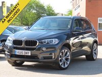 USED 2015 15 BMW X5 2.0 XDRIVE25D SE 5d AUTO 215 BHP 20 INCH ALLOYS, FULL LEATHER + PRO NAVIGATION