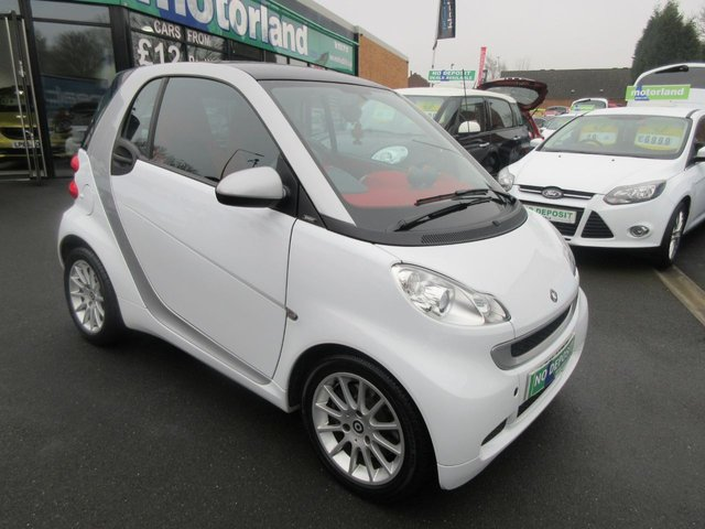 USED 2011 11 SMART FORTWO 0.8 PASSION CDI 2d AUTO 54 BHP **FULL SERVICE HISTORY** NO DEPOSIT DEALS