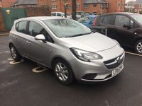 USED 2015 15 VAUXHALL CORSA 1.2 DESIGN 5d 69 BHP NEW MODEL CORSA WITH CHEAP RUNNING COSTS AND GOOD SPECIFICATION INCLUDING TOUCHSCREEN WITH INTELELINK , BLUETOOTH, AIR CONDITIONING, REMOTE CENTRAL LOCKING, FULL HISTORY AND CRUISE CONTROL! ALSO LOW MILEAGE WITH ONLY 7833 MILES FROM NEW!