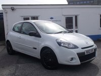 USED 2012 12 RENAULT CLIO 1.1 DYNAMIQUE TOMTOM TCE 3d 100 BHP