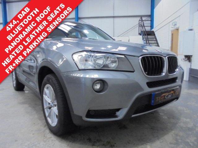 2013 13 BMW X3 2.0 XDRIVE20D SE 5d 181 BHP