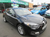 USED 2015 15 RENAULT MEGANE 1.6 DYNAMIQUE TOMTOM VVT 5d 110 BHP .. CALL 01543 379066 FOR MORE INFO