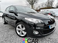 USED 2013 13 RENAULT MEGANE 1.5 DYNAMIQUE TOMTOM DCI 5d 110 BHP 1 PREVIOUS KEEPER + FULL RENAULT SERVICE HISTORY + SAT NAV + BLUETOOTH + LOW MILEAGE +  MOT MARCH 2019 + AND MORE!
