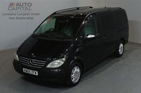 USED 2009 59 MERCEDES-BENZ VIANO 2.1 CDI AMBIENTE 150 BHP LWB AUTO A/C SAT NAV NO VAT 2 OWNER FROM NEW, FULL SERVICE HISTORY