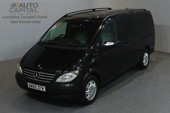 2009 MERCEDES-BENZ VIANO 2.1 CDI AMBIENTE 150 BHP LWB AUTO A/C SAT NAV NO VAT £8990.00