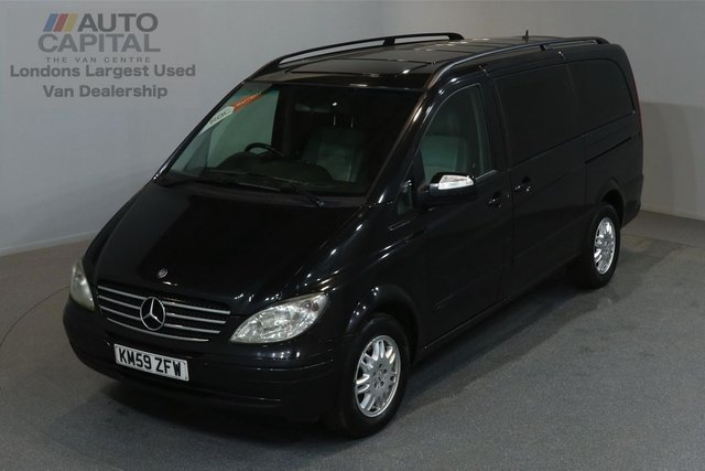 2009 59 MERCEDES-BENZ VIANO 2.1 CDI AMBIENTE 150 BHP LWB AUTO A/C SAT NAV NO VAT 2 OWNER FROM NEW, FULL SERVICE HISTORY