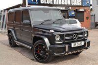 USED 2016 MERCEDES-BENZ G-CLASS 5.5 AMG G 63 4MATIC EDITION 463 5d AUTO 563 BHP FULLY LOADED AND EXTREMELY RARE COLOUR
