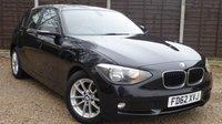 USED 2013 62 BMW 1 SERIES 2.0 116D SE 5dr £30/yr Tax, BMW SH