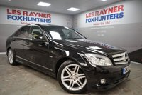2009 MERCEDES-BENZ C CLASS 2.1 C220 CDI BLUEEFFICIENCY SPORT 4d AUTO 170 BHP £7499.00