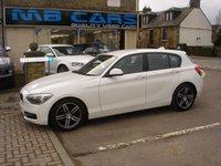 2012 BMW 1 SERIES 1.6 116I SPORT 5d 135 BHP £7995.00