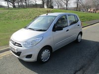 USED 2011 11 HYUNDAI I10 1.2 CLASSIC 5d 85 BHP 54,000 GUARANTEED MILES - £20 PER YEAR ROAD TAX  - LOTS OF SERVICE HISTORY