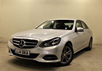 2014 MERCEDES-BENZ E CLASS 2.1 E220 CDI SE 4d AUTO 168 BHP £12999.00