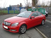 2013 MERCEDES-BENZ C CLASS 2.1 C220 CDI BLUEEFFICIENCY EXECUTIVE SE 2d 168BHP £10490.00